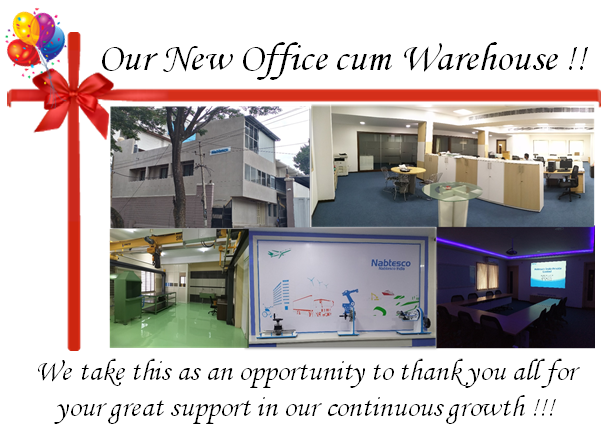 Announcement of Change of New Office cum Warehouse